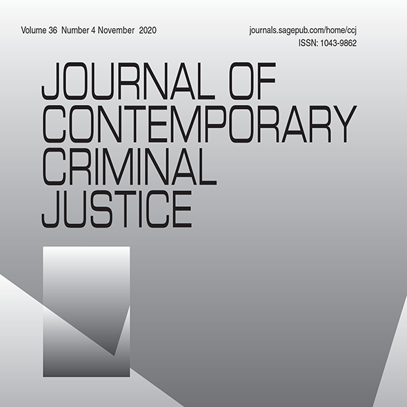 Journal of Contemporary Criminal Justice cover